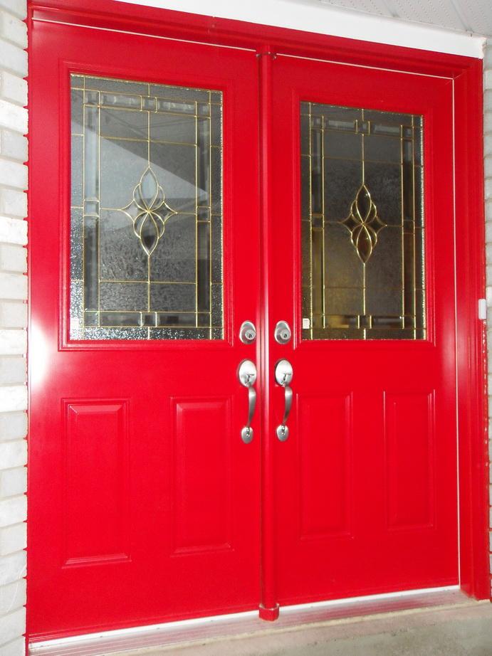 double_red_door